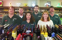 Service Liquor and Wines staff